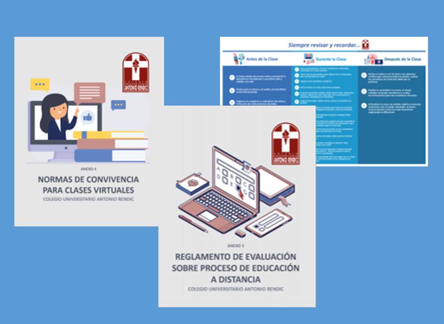 Nuevas Normas De Convivencia Para Clases Virtuales Y Reglamento De Evaluación Sobre Proceso De Educación A Distancia Colegio U Antonio Rendic Antofagasta